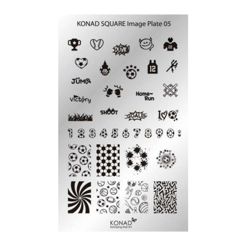 Konad Square Image Plate 05 More Images