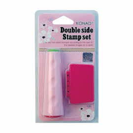 Konad Double Sided Stamp and Scraper Set