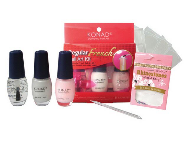 Regular french nail art kit without box prinsesfo Images